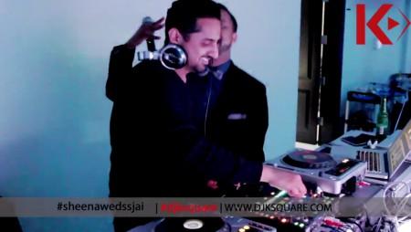 DJ K Square Jai and Sheena Wedding Reception